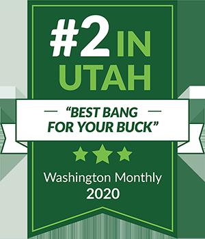 #2 in Utah Best Bang for Your Buck