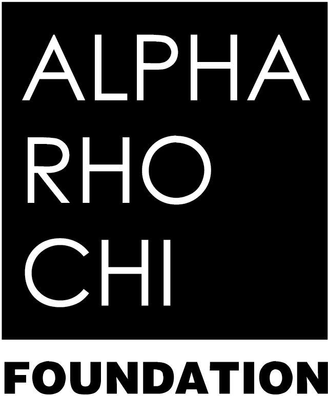National Professional Fraternity for Architecture and the Allied Arts (Alpha Rho Chi - APX) logo